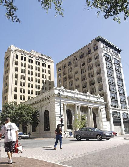 March 7: Jacksonville Jaguars owner Shahid Khan confirmed that he offered a loan to a local developer for the redevelopment of the Laura Street Trio and the Barnett Bank Building. Click here to read about the buildings' potential role in revitalization.Click here to read about the challenges facing the redevelopment of the trio.
