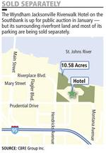 Wyndham hotel's split mortgages complicate sale