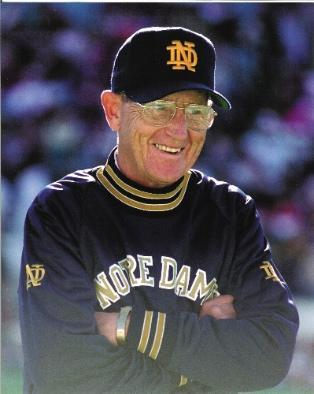 Lou Holtz, the former head football coach at Notre Dame, has been hired by Wells Fargo for a pep talk to Realtors.