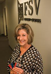 FSV Payment Systems Vice President of Product and Marketing Donna Mack Crowell.The Jacksonville-based company has been bagging big national clients for prepaid payroll cards. Read more here.