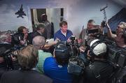 NFL Commissioner Roger Goodell addresses the media after a fan forum at Everbank Field. Read the full story here.