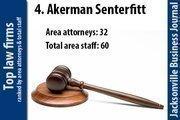 No. 4 Akerman Senterfitt