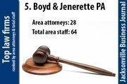 No. 5 Boyd & Jenerette PA