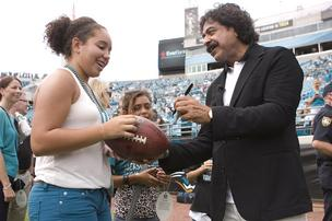 "Jaguars owner Shahid Khan hired David Caldwell to be the team's new general manager Tuesday night, saying ""We got our man."
