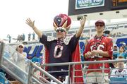 Texans fans show their pride during Houston's 27-7 win at Everbank Field.