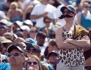 Several moustaches were seen around Everbank Field.