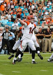 Dalton attempting a pass.