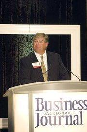 David Sillick, publisher of the Jacksonville Business Journal.