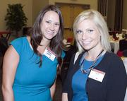 From left to right:Rachel Landis Alyson Wise.