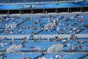 With about three minutes left in the fourth quarter and the Jaguars down by 20, fans begin to clear out of the stadium.