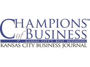 Kansas City Business Journal Champions of Business logo