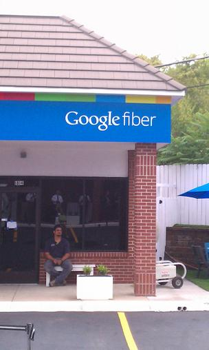 Google Fiber building in Kansas City @GoogleFiber