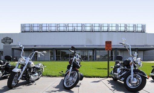 Harley-Davidson's Kansas City plant