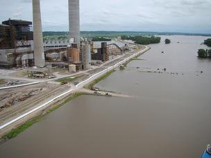 KCP&L Iatan power plants flooding
