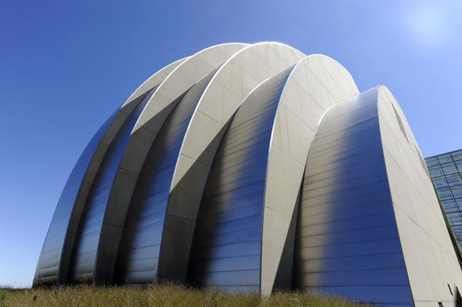 The Kauffman Center for the Performing Arts is the home of the Lyric Opera of Kansas City.