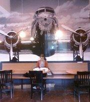 The Roasterie Café mural