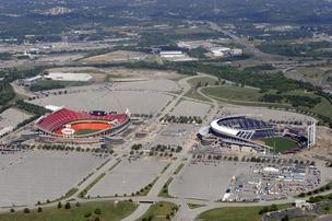 Truman Sports Complex Kansas City, Mo. Arrowhead Stadium Kauffman Stadium