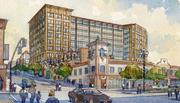 A planned $58 million office building for law firm Polsinelli Shughart PC on Kansas City's Country Club Plaza has met with opposition.