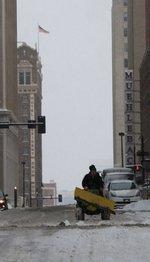 Snowstorm packs them in at Kansas City hotels