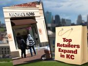 3. Michael KorsThe New York-based designer increased sales 65.4 percent from 2010 to 2011, bringing in $521 million in U.S. sales. Michael Kors opened its first Kansas City-area location on the Country Club Plaza in September.