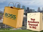 58. Ross StoresThe California-based discount apparel retailer ratcheted up 2011 U.S. sales by 9.5 percent, collecting $8.6 billion. Ross Dress for Less is making a foray into the Kansas City market; it has signed leases at Adams Dairy Landing and in Lawrence. Independence also has been mentioned as a potential location.