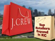 79. J. CrewThe New York-based apparel retailer boosted 2011 U.S. sales by 7.7 percent to $1.8 billion. The chain already has locations on the Country Club Plaza and at Leawood's Town Center Plaza; it opened an outlet store at Legends Outlets Kansas City in the summer of 2011.