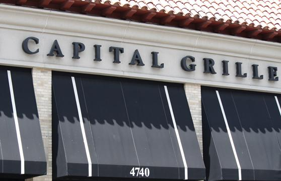 Kansas City's Capital Grille and Cafe Provence were two of OpenTable's top 100 restaurants of 2012.