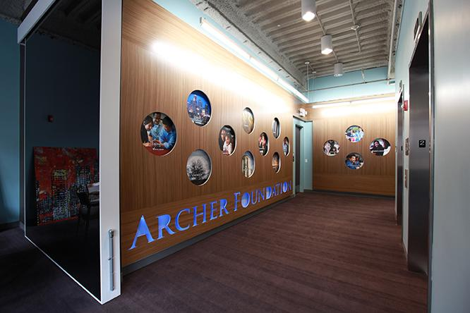 The Archer Foundation moved into its Leawood headquarters at Park Place in September.
