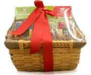 A chocolate gift basket by Bitterman Family Confections