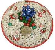 White chocolate-covered pretzels by Bitterman Family Confections
