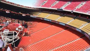 NFL Kansas City Chiefs Arrowhead stadium