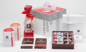 Various gift styles by Christopher Elbow Artisanal Chocolates