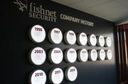 FishNet's new headquarters includes a display of the company's history.