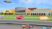 This is the latest rendering for Hollywood Casino at Kansas Speedway.