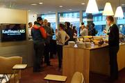 The Ewing Marion Kauffman Foundation in Kansas City opened its doors to the Startup Crawl on Friday.