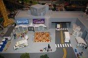 Legoland Discovery Center and Sea Life Aquarium are replicated in Miniland at Legoland Discovery Center.