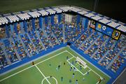 Sporting Kansas City shows off its mini version in Miniland at Legoland Discovery Center.