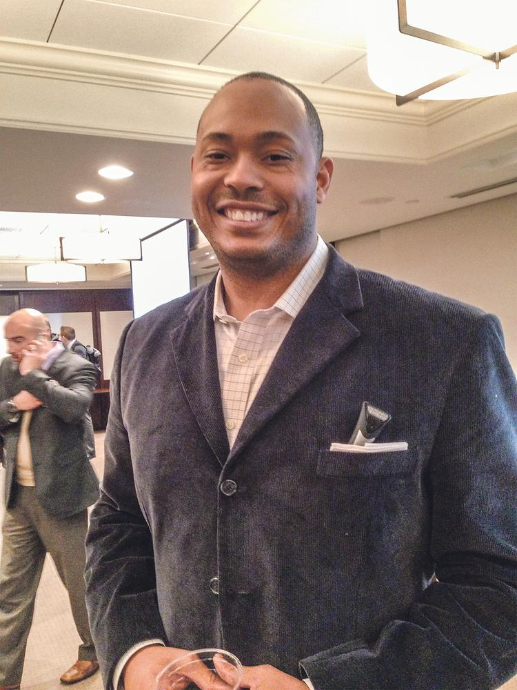 Davyeon Ross, co-founder and former CEO of Digital Sports Ventures in Overland Park