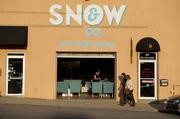 Snow & Co. Artful Frozen Cocktails is in Kansas City's Crossroads Arts District at 1815 Wyandotte St.