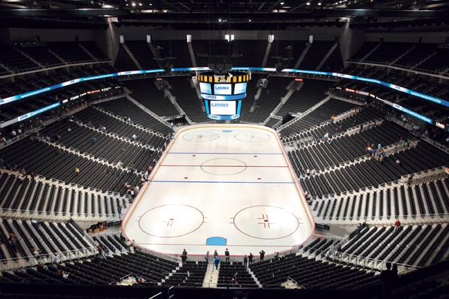 Sprint Center is scheduled to host a preseason game between the New York Rangers and the Colorado Avalanche on Oct. 6.