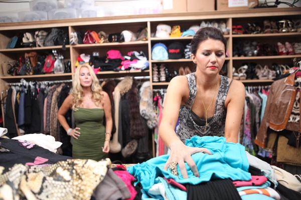 """Corri McFadden (right) is the star of the new VH1 show, """"House of Consignment,"""" featuring her multimillion-dollar consignment business eDrop-Off, based in Chicago."""