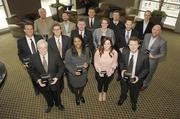 All 2012 ImpacT award winners gather for a group portrait.