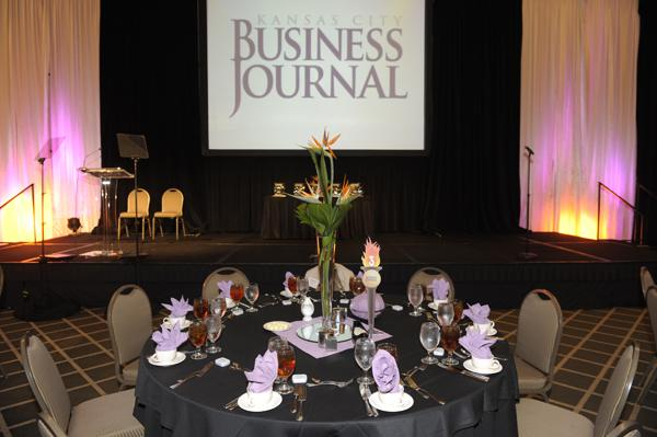 Champions of Business awards luncheon at the Overland Park Sheraton