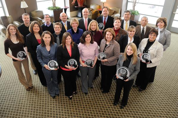 The Kansas City Business Journal recognized its Healthiest Employers honorees at a Monday luncheon. Click through this slide show to see photos of the event, including the awards presentation.