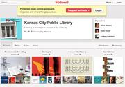 Kansas City Public Library's Pinterest page recommends books, but it also touts library events and reading trends.