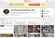 The Roosevelt Hotel's Pinterest page offers pictures of its amenities as well as tips for tourists.