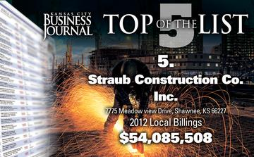 Top of the List: <br>General Contractors