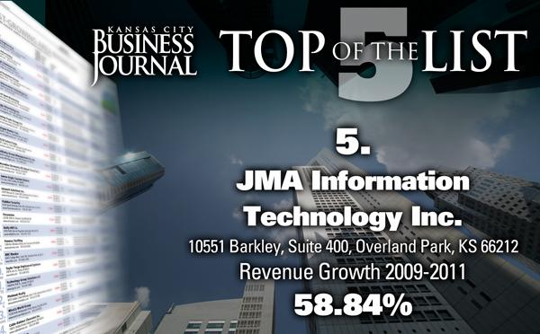 Click through this slide show to see the Kansas City area's fastest-growing companies.