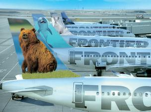 Frontier Airlines will be adding four new routes at Orlando International Airport this fall.