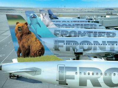 Frontier Airlines is the third largest carrier by number of passengers at Kansas City International Airport.